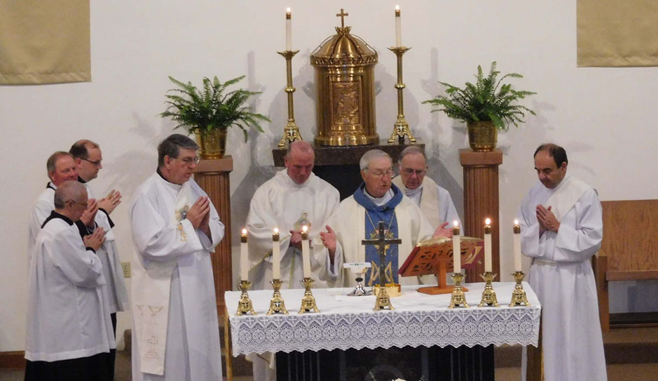6/27/16 ANNUAL PEACE MASS – Homily by Bishop Kenneth Steiner
