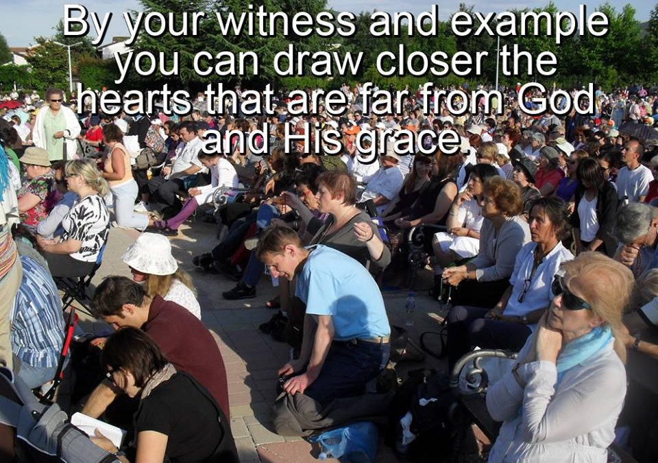 MEDJUGORJE MESSAGE April 25th